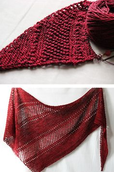 Ravelry: Ardent shawl in Madelinetosh Tosh Merino Light - knitting pattern by Janina Kallio.