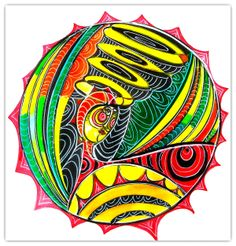 Intuitive Mandala #26 - Shelley Klammer