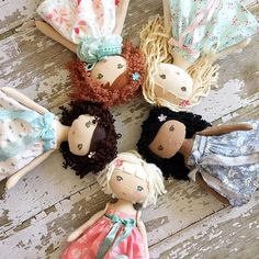 Beautiful Heirloom Dolls by SpunCandy