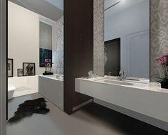 Bathroom : Simple Minimalist Bathroom Design Photo #9 Creative Decorating Bathroom Ideas With Nice Color Scheme Bathroom' Bathroom Tile Colors' Bathroom Decor Ideas along with Bathrooms