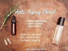 Anti-Aging Essential Oils Roller Blend ••• Buy dōTERRA essential oils online at www.mydoterra.com/suzysholar, or contact me suzy.sholar@gmail.com for more info.
