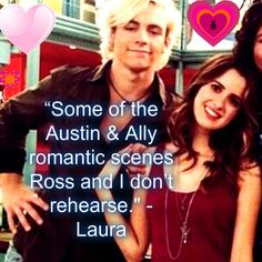 I bet they do New Disney Channel Shows, Disney Shows, Austin Moon, Laura Marano, Austin And Ally, Derek Hough, Romance And Love, Girl Meets World, Ross Lynch