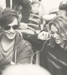 Douglas and Miley Cyrus in LOL The Movie   Douglas Booth ...