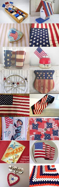 Wishing You A Very Happy 4th of July - TVAT Team Treasury by Carol Schick on Etsy--Pinned with TreasuryPin.com