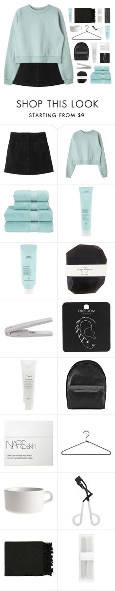 """No Favors"" by w-eakness ❤ liked on Polyvore featuring Monki, Christy, Aveda, Pelle, Topshop, Fresh, Acne Studios, NARS Cosmetics, PERIGOT and Marimekko"