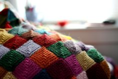 Scrap Blanket, links to tutorial and additional info