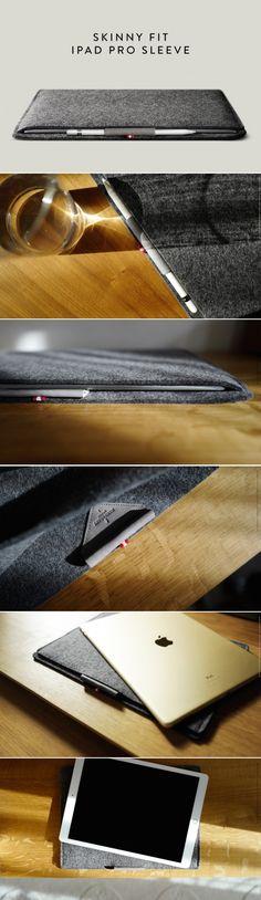 #hardgraft Skinny Fit iPad Pro Sleeve / Field
