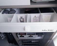 ◆【ビフォーアフター白いシンプルな収納へ】イケアのSKUBBを引き出し風に使う : love HOME 収納&インテリア