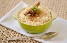 El arroz con leche Cubano lleva toques de lima, canela y anís.