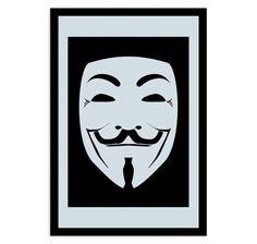 V For Vendetta Maske Spiegel