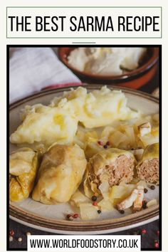 Sarma is a traditional dish of Croatian cuisine, widespread in continental and eastern Croatia. Traditionally, it is made from a mixture of minced meat, rice and spices wrapped in sauerkraut.However, Sarma is one of those traditional dishes that are also present in other national cuisines. In fact, it is very widespread in other national cuisines. Cabbage And Bacon, Cabbage Rolls, Sarma Recipe, Croatian Cuisine, Serbian Recipes, Smoked Bacon, Few Ingredients, Sauerkraut, World Recipes