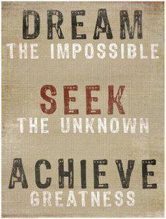 dream impossible