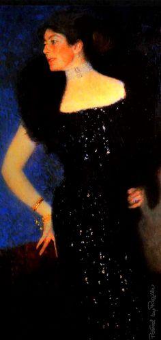 Regilla ⚜ Gustav Klimt, portrait of Rose von Rosthorn-Friedmann