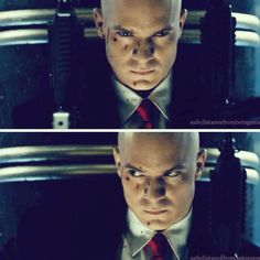 This movie is a favorite thriller. Tim as a compassionate, methodical killer. He looked so damn hot in that suit and red tie. I would love to be riding on a train with that guy. #TimothyOlyphant #Hitman #Agent47 #TimOlyphant #videogames