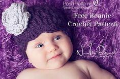 Free Petal Edge Hat Crochet Pattern