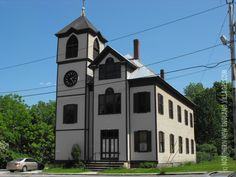 Picture of Odd Fellows-Revekah Hall in Cornish, Maine