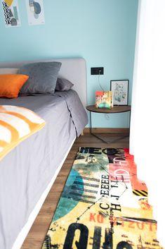 Alfombras para pie de cama estampadas. Perfectas para dar un toque más acogedor a tu dormitorio. Además el tacto suave al levantarte por la mañana te encantará. Venetian, Kids Rugs, Contemporary, Home Decor, Bed Feet, Headboards, Cozy, Flooring, Bed Covers