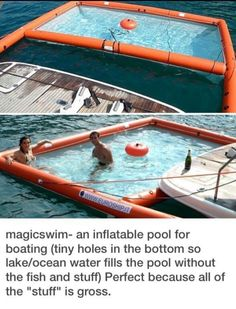 Magicswim. Inflatable pool DIY