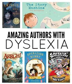 7 Amazing Children's Authors With Dyslexia: Here are seven wonderful children's authors with dyslexia whose work you can share with your children and show them that if they want to write, they can. Dyslexia Activities, Dyslexia Strategies, Dyslexia Teaching, Learning Disabilities, Dyslexia Quotes, Dyscalculia, Reading Intervention, Reading Tutoring, School Psychology