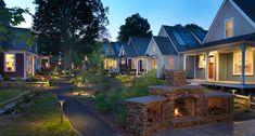Union Studio; Concord Riverwalk Cottages (New Construction of 13 Net Zero possible homes); Concord, Massachusetts.