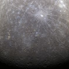 NASA Captures First Color Image of Mercury from Orbit by NASA Goddard Photo and Video