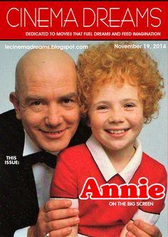 "Albert Finney and Aileen Quinn in ""Annie"" (1982)"