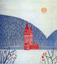 shine brite zamorano: castles with kinders.