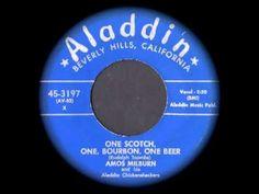 ▶ Amos Milburn - One Scotch, One, Bourbon, One Beer