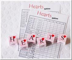 DIY Heart Valentine's Game