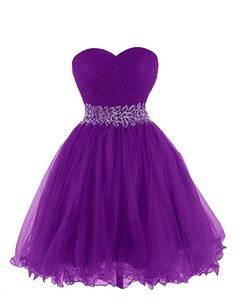 KARMA PROM Women's Sweetheart Tulle Cocktail Dress Homecoming Dress at Amazon Women's Clothing store: