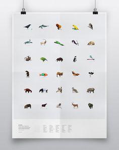 In Pieces - 30 Endangered Species, 30 Pieces.