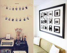 18 ideias para usar fotografia na decoração | Lomogracinha