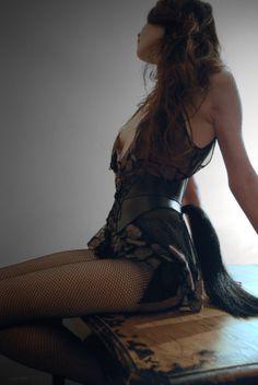The original horsetail corset belt with Steph Aman Lingerie
