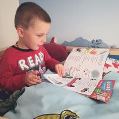 I was told I wasn't needed for bedtime reading duties tonight he wanted to read to himself!