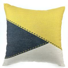 Geometric Pillow Cover Decorative Throw Pillows by HomeDecorYi
