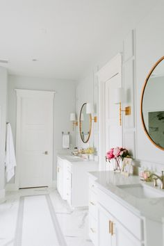 06-Decor | A Bright & Beautiful Bathroom Makeover-This Is Glamorous