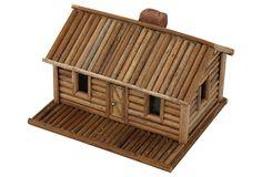 Miniature Twig Cabin on OneKingsLane.com