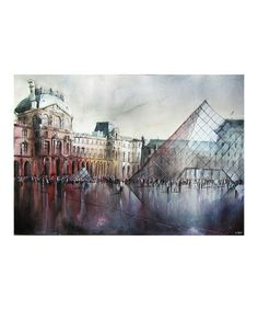 Loving this Le Louvre Canvas Wall Art on #zulily! #zulilyfinds