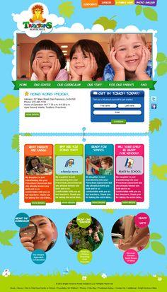 website template daycare ideas pinterest template website and