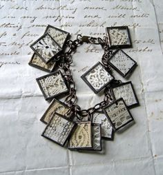 Sewing Room Revisited Vintage Lace Bracelet by ThatOldBlueHouse2