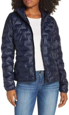 696763208b586 adidas Light Packable Hooded Down Jacket Nordstrom, Sporty, Winter Jackets,  Adidas, Fashion