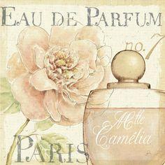 Fleurs and Parfum II Póster por Daphne Brissonnet