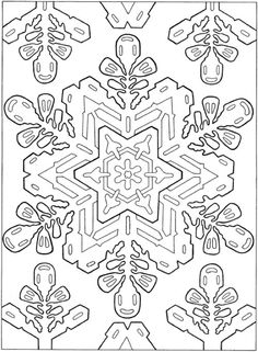75 Best Icolor Snowflakes Images Coloring Book Coloring Book