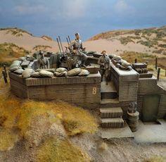 German anti-aircraft bunker