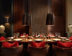 Eat: With its soothingly Zen interior, The Restaurant at Setai—designed by architect Jean-Michel Gathy and decorator Jaya Ibrahim—is easily one of the most beautiful spaces in Miami.