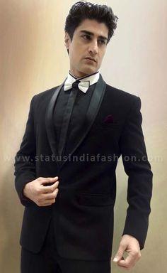 Mens Designer suit, wedding suit, groom suits,blazer suit, fashion suit, Black Color suit, mens suit, mens party suits www.statusindiafashion.com