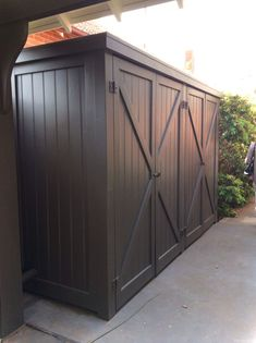 Nice 55 Nice Garden Shed Storage Ideas on a Budget https://lovelyving.com/2017/12/01/55-nice-garden-shed-storage-ideas-budget/ #shedstorageideas #GoodGardens