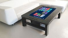 coffee table touchscreen computer on windows 8