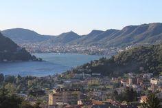#Lake #Como view from amazing #terrace in #Cernobbio