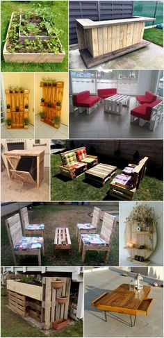 Incredible DIY Projects From Pallets Wood: Pallet woods are inexpensive and so they are compatible as well. Long Planter, Big Planters, Pallet Projects, Diy Projects, Pallet Ideas, Painted Sticks, Old Pallets, Outdoor Areas, Recycled Crafts